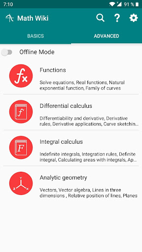 Math Wiki - Learn Math screenshot 2