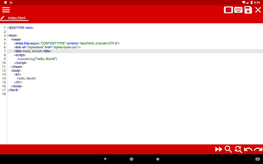 WebCode - ide for html, css and javascript screenshot 13