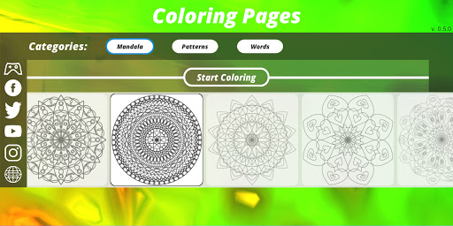 Coloring Pages [Adults] screenshot 5