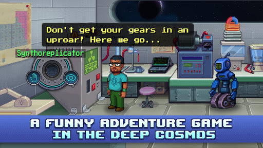 Lost in Space and Time-Point and Click Pixel Quest screenshot 2
