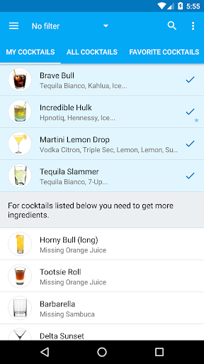 My Cocktail Bar screenshot 2
