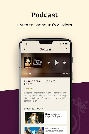Sadhguru screenshot 4