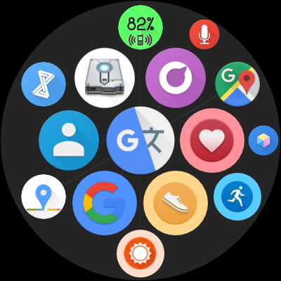 Bubble Cloud Tile Launcher / Watchface (Wear OS) screenshot 29