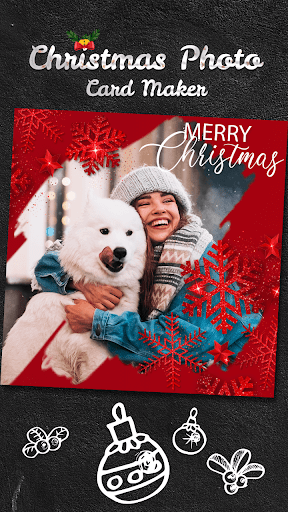 Christmas Photo Card Maker screenshot 1