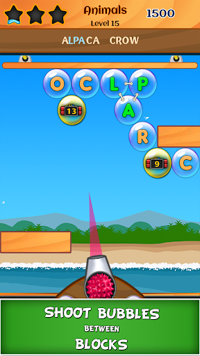 Bubble Words screenshot 1