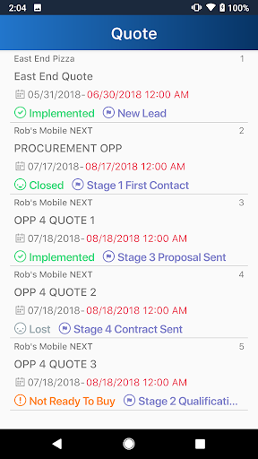Autotask LiveMobile screenshot 5