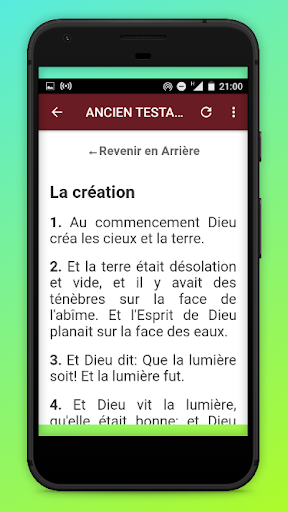 La Sainte Bible DARBY screenshot 4