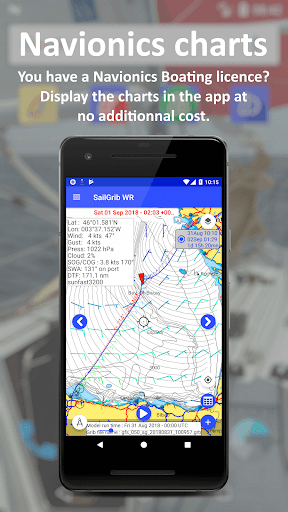 SailGrib Weather Routing Free screenshot 4