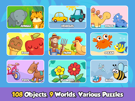 Toddler Puzzles for Kids screenshot 11