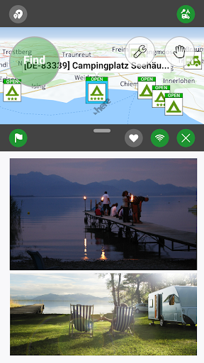 Camping.Info by POIbase Campsites & Pitches screenshot 1
