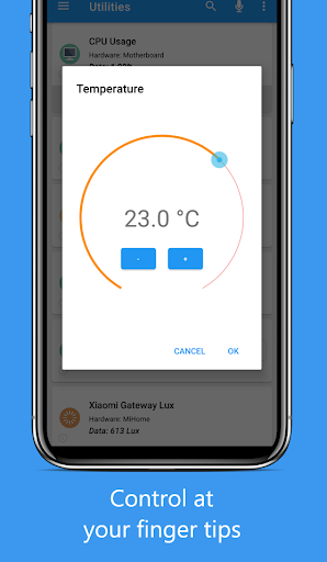 Domoticz Home Automation Lite screenshot 2