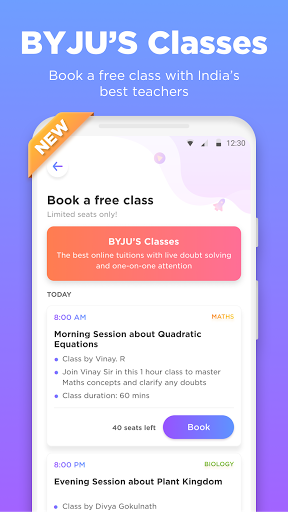 BYJU'S - The Learning App screenshot 2