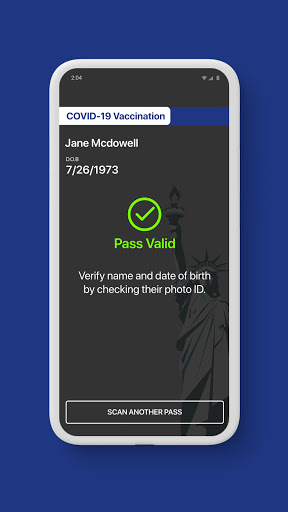 NYS Excelsior Pass Scanner screenshot 2