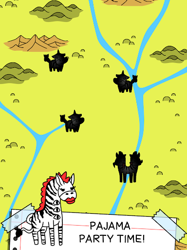 Zebra Evolution - Mutant Zebra Savanna Game screenshot 4
