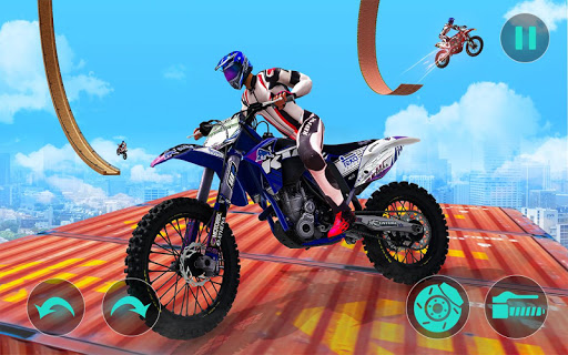 New Bike Stunts Game: Impossible Bike Stunts screenshot 7