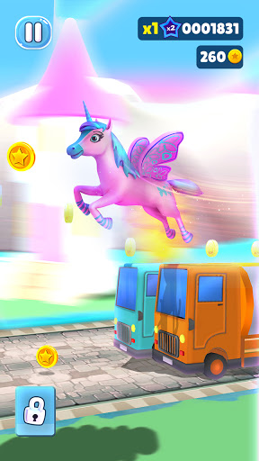 Magical Pony Run screenshot 2