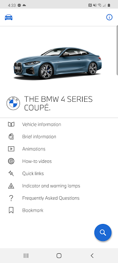 BMW Driver's Guide screenshot 1