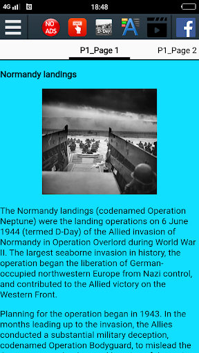 D-Day History 屏幕截图 2