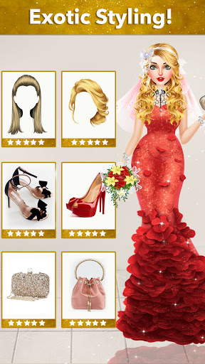 Fashion Wedding Dress Up Designer screenshot 3