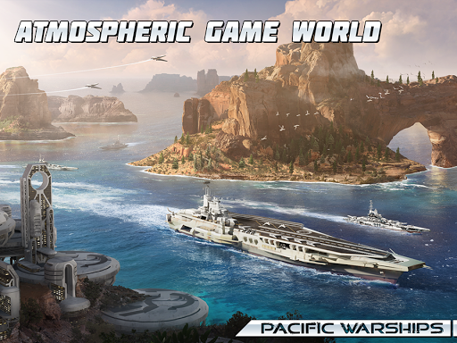 Pacific Warships screenshot 18