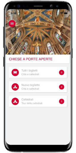 Chiese a porte aperte screenshot 2
