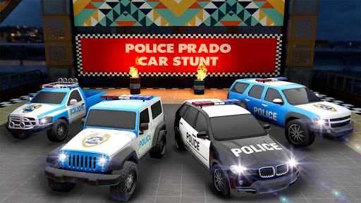 Police Prado Car Stunt Games screenshot 18