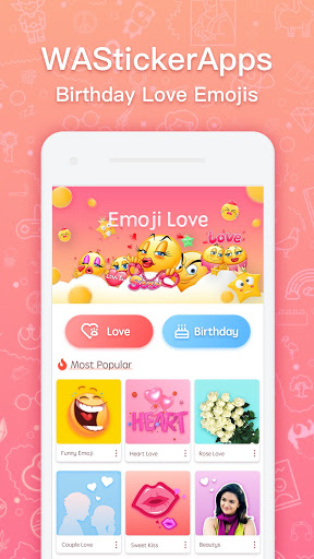 Love Roses Stickers For WhatsApp screenshot 1