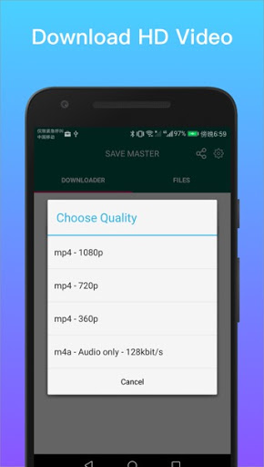 Save Master = Tube Video & Save Videos from fb/net screenshot 1