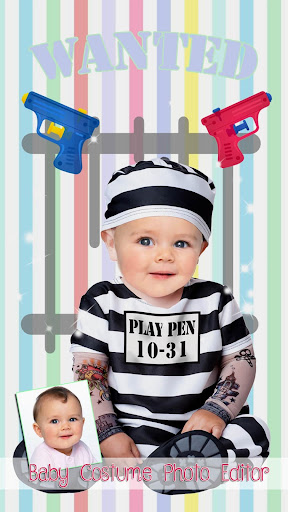 Cute Baby Photo Montage App 👶 Costume for Kids screenshot 7