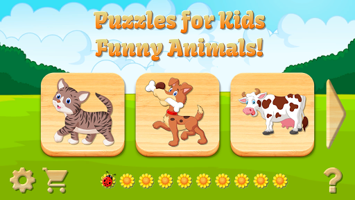 Baby Puzzles for Kids screenshot 1