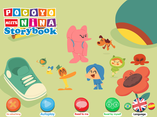 Pocoyo meets Nina screenshot 13