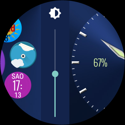 Bubble Cloud Tile Launcher / Watchface (Wear OS) screenshot 28