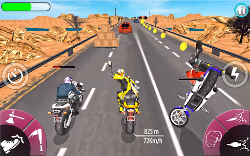New Bike Attack Race screenshot 2