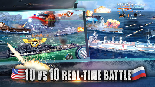 Warship Rising - 10 vs 10 Real-Time Esport Battle screenshot 2