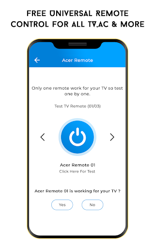 Free Universal Remote Control For All TV, AC &more screenshot 2