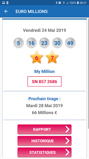 Résultat Loto France screenshot 3