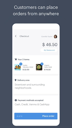 POS: Point of Sale for in-Person and Online Orders screenshot 4