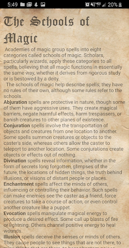 D&D Spellbook 5e screenshot 8