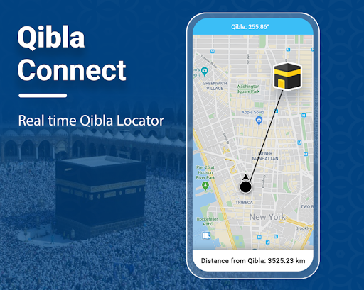 Qibla Connect® Find Direction screenshot 1