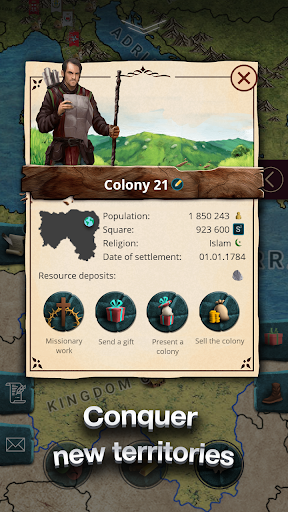 Europe 1784 - Military strategy screenshot 3