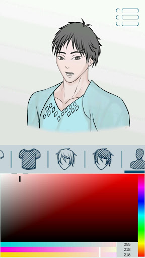 Avatar Maker: Guys screenshot 4