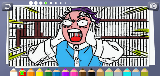 Coloring book for Demon Slayer screenshot 2