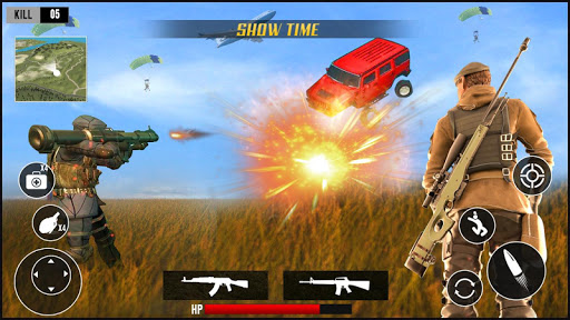 Fire Battleground squad survival screenshot 4