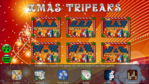 Xmas TriPeaks, card solitaire, tournament edition screenshot 6