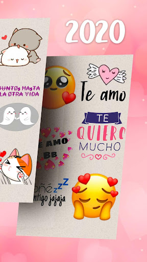 Stickers de amor para WhatsApp en español 💕 screenshot 3