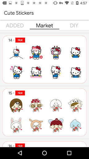 Cute Stickers screenshot 3