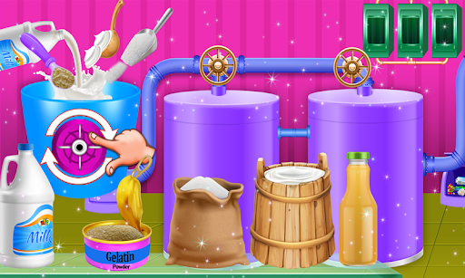 Ice Cream Popsicle Factory Snow Icy Cone Maker screenshot 3