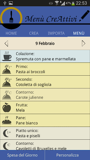 Menù CreAttivi screenshot 6