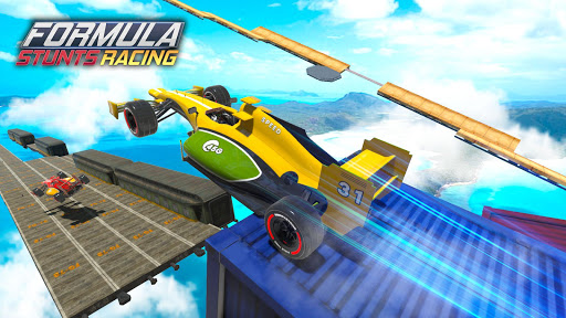 Mega Ramp Car Stunt Race screenshot 2