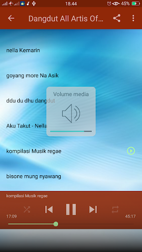 Dangdut Song screenshot 3